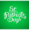 St Patrick Day Greeting Card vector image