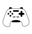 videogame controller icon image vector image vector image