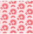 beautiful pink flower seamless pattern vector image