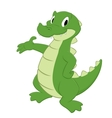 Cartoon Croc vector image vector image