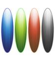 Surfingboards vector image vector image