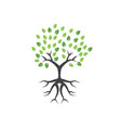 tree graphic design template isolated vector image