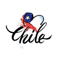 logo Chile vector image