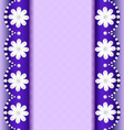 Background with flowers of pearl