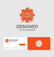 business logo template for abstract core vector image