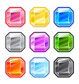 Colourful Square Diamonds vector image