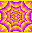 optical pattern vector image vector image