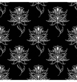 Paisley seamless floral pattern vector image vector image