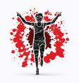 runner jogger athletic running winner
