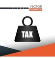 tax time design vector image