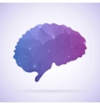 Abstract Creative concept icon of Brain for vector image