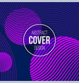 abstract creative concept layout template modern vector image vector image