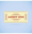 Admit One ticket vector image