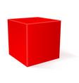 cube 3d geometric shape