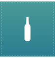liquor bottle icon vector image vector image