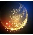 Sparkle Space Background vector image vector image
