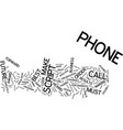 your best friend the phone text background word vector image vector image