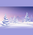 merry christmas fairy background vector image