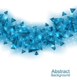 Abstract Background with Pyramids with Light vector image vector image