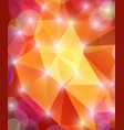 abstractness shining multicolored background vector image vector image