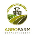 agro farm logo design