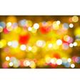 Beautiful Defocused Light Background vector image vector image
