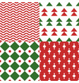 christmas seamless pattern for use as wallpaper vector image
