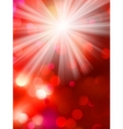 Colorful bokeh light background EPS 10 vector image vector image
