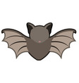 abstract cute bat icon vector image vector image