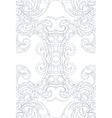 Art Nouveau style ornament vector image vector image