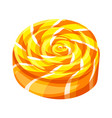 candy swirl icon cartoon style vector image vector image