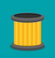 car filter icon flat vector image vector image