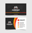 Colorful and creative double-sided business card