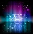 spectrum glow vector image vector image