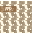 Surge protector seamless pattern vector image vector image