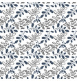 transparent winter pattern with branches drawn in vector image