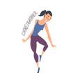 woman dance teacher or choreographer creative vector image vector image