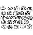 Digital and film camera icons vector image