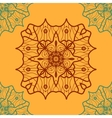 Yoga Ornament kaleidoscopic seamless Indian Art vector image