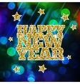 Blurred New Year background vector image