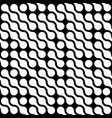 abstract background of white connected dots in vector image vector image