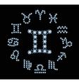 Diamond Signs Of The Zodiac vector image vector image