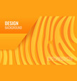 orange paper line - abstract texture simple vector image vector image