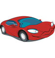 sports car vector image vector image