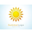 summer logo label Summer icon vector image
