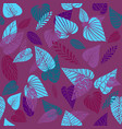 trend nature background vector image vector image