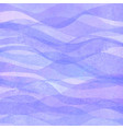 watercolor transparent wave purple lavender vector image vector image