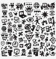 web symbols - icon set design elements vector image