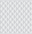 white and grey 3d abstract scales background vector image vector image