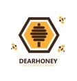 honey logo or symbol icon vector image
